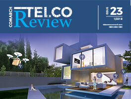 Comarch Telco Review Magazine cover